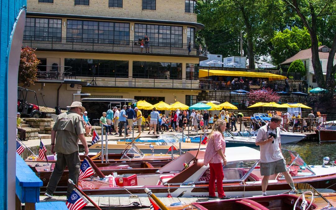 43rd Annual Portage Lakes Antique Boat Show at Pick's At PLX