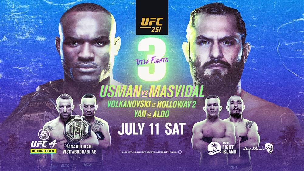 Usman Vs. Masvidal UFC 251 Pick's Portage Lakes Ohio