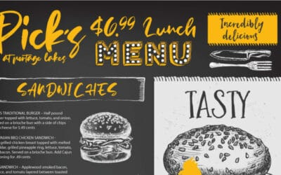 All New $6.99 Lunch Menu!