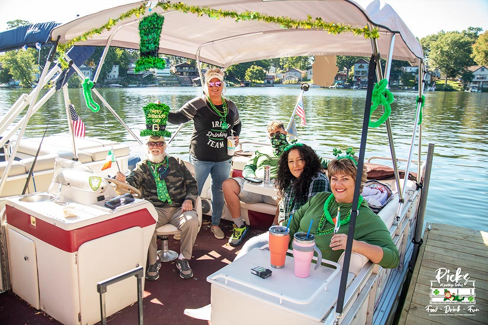 Pick's annual halfway to st. patrick's day party