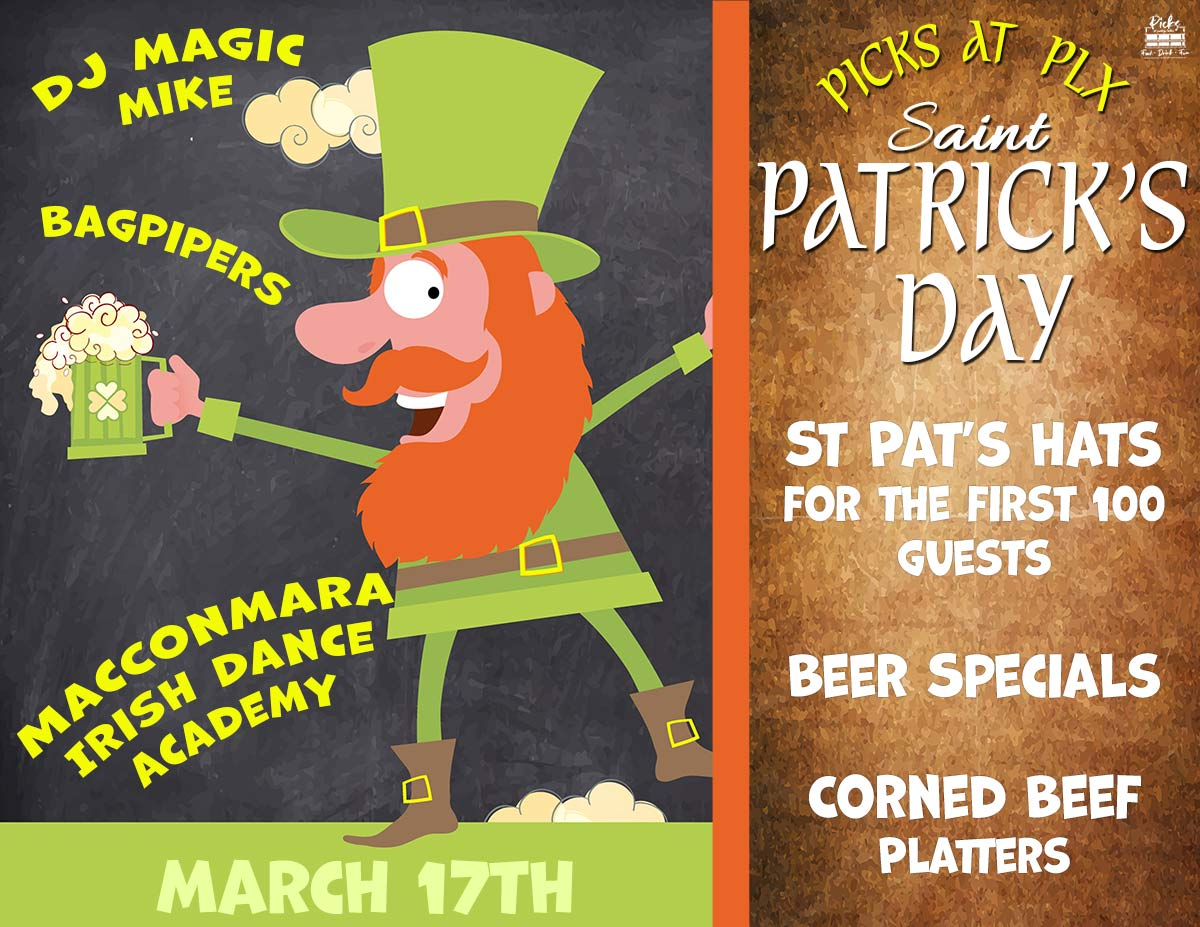 st. patrick's day 2021 in portage lakes