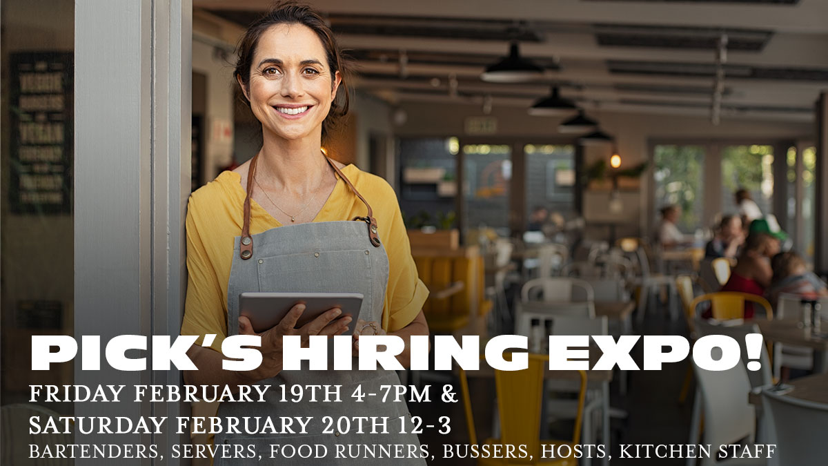 pick's hiring expo 2021