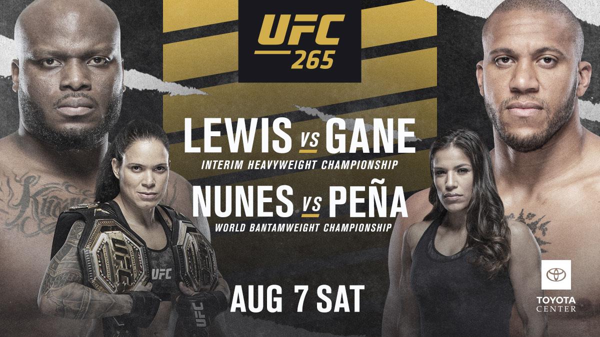 Watch UFC 265 LEWIS VS GANE