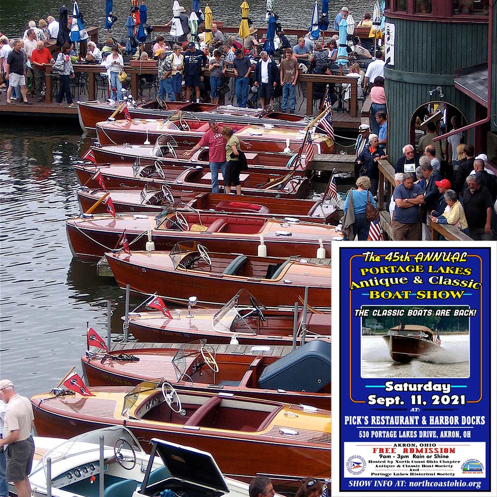Event Information - Portage Lakes Antique & Classic Boat Show 2021