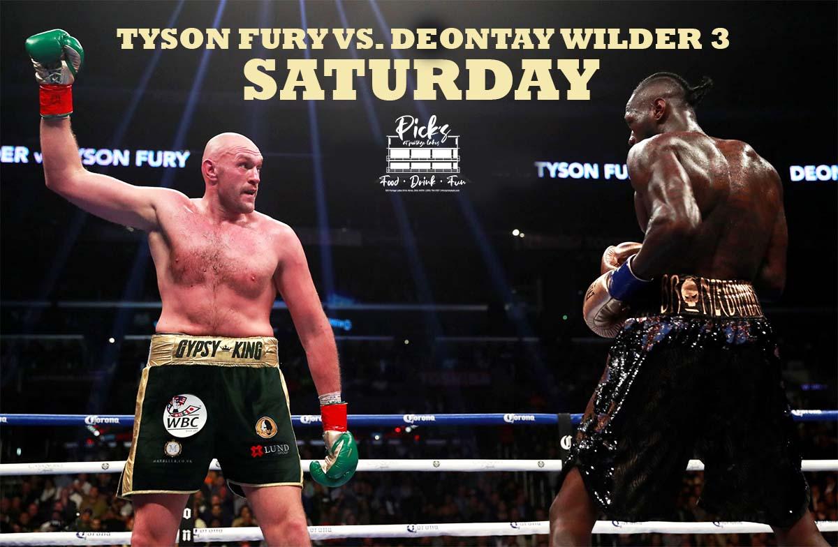 Tyson Fury vs. Deontay Wilder 3